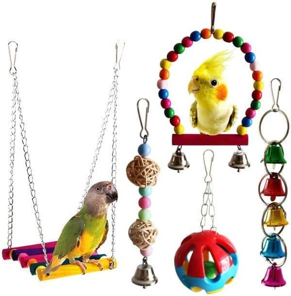 BWOGUE Bird Parrot Toys