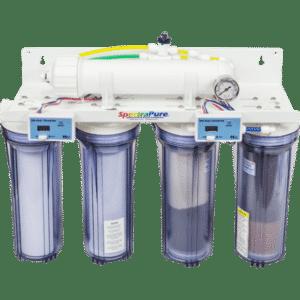 SpectraPure MaxCap RO/DI System w/ Manual Flush - 90 GPD