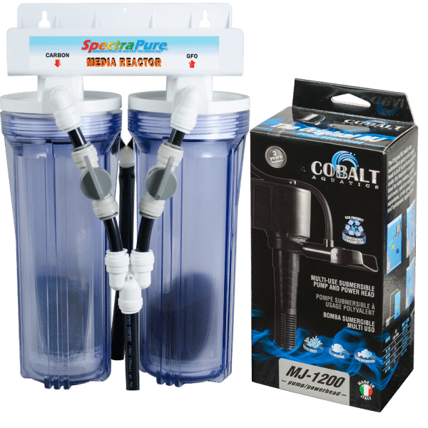 SpectraPure Dual Media Reactor with Pump